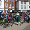 Oh Yeah! - Roll up for an off-road ride... Abingdon Spring Cycle Festival 2013