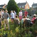 Pot Luck Supper 2013- enjoying the evening sunshine