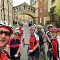 Selfie with the tourists at Hertford College's bridge of sighs.