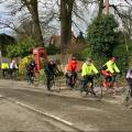 The 2* peloton in Hatford