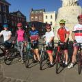 3* Riders Just about to depart Wantage.