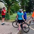 Start of the Oxford ride -